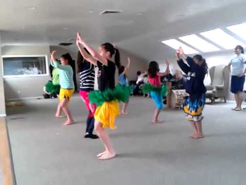 Dance Practice Rapa Nui