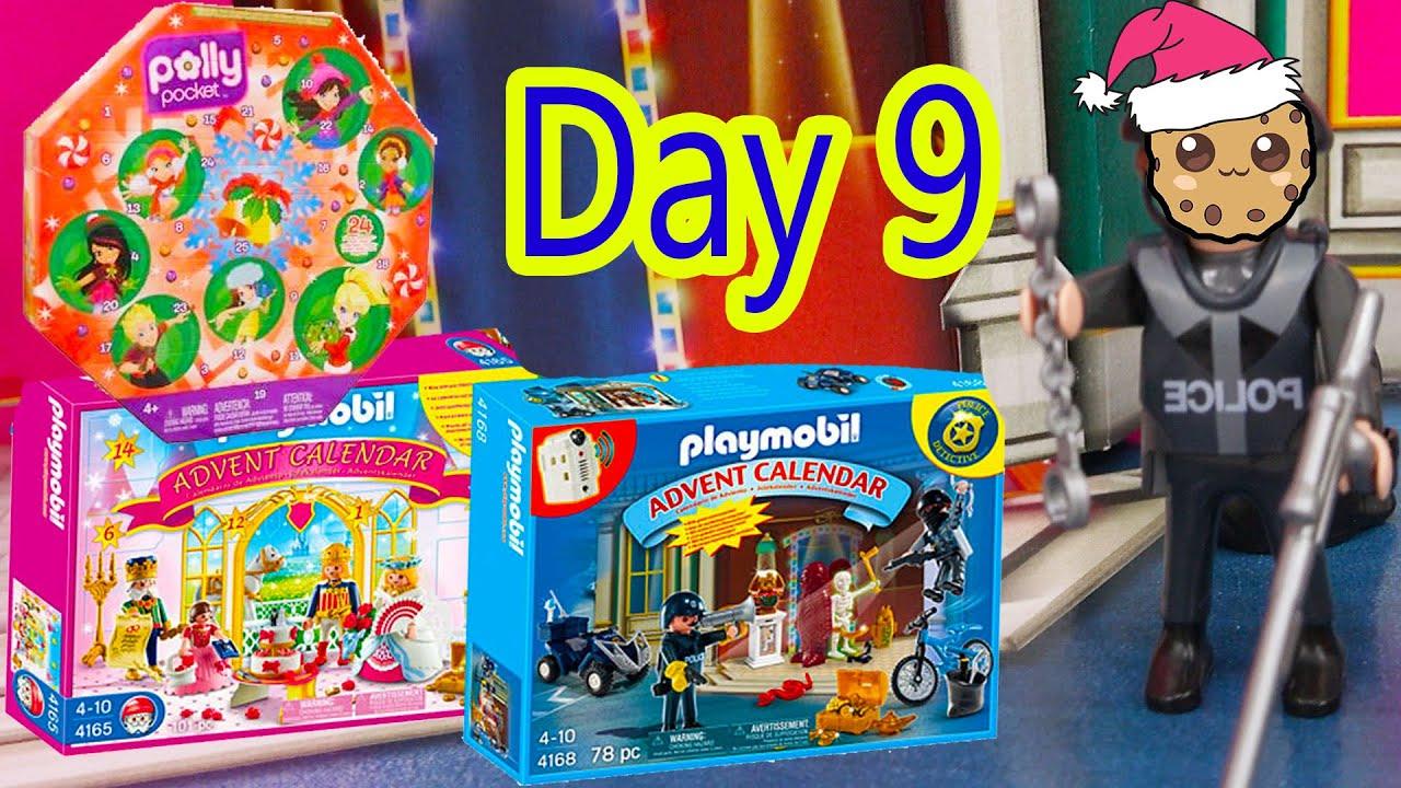 Polly Pocket, Playmobil Holiday Christmas Advent Calendar Day 9 Toy ...