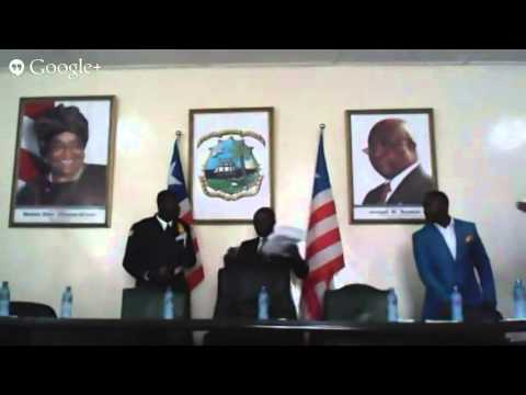 Ministry of Information of the Republic of Liberia Press Conference