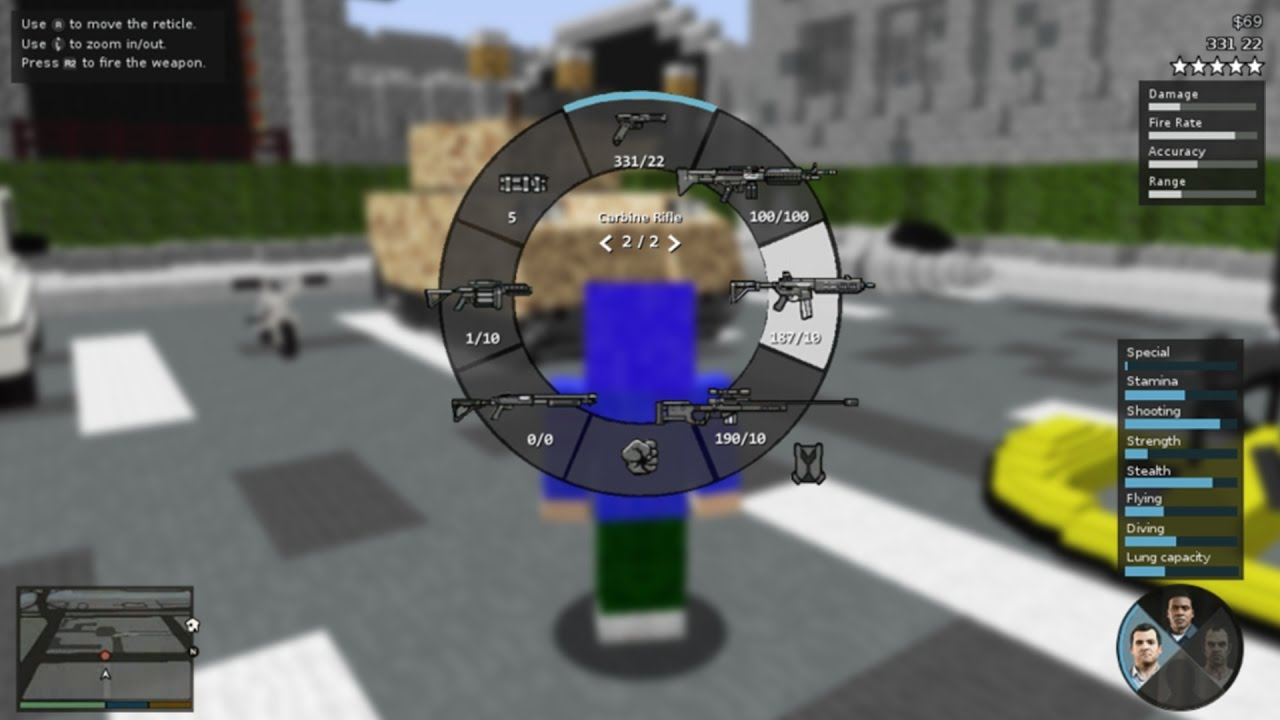 SO KANNST DU GTA IN MINECRAFT SPIELEN YouTube - Minecraft spielen wie