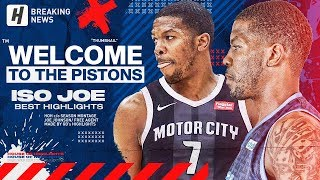 ISO JOE IS BACK! Joe Johnson BEST CAREER Plays & CLUTCH Shots! Welcome to Detroit Pistons