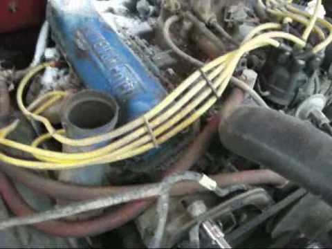 1969 Ford Ranger F100 Alternator Installation Youtube