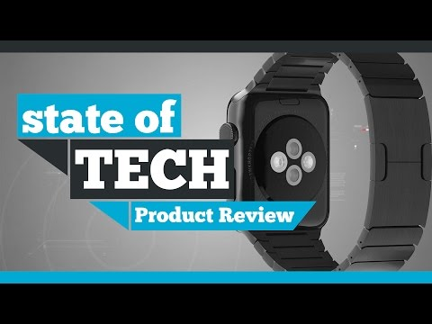 MoKo Stainless Steel Apple Watch Link Bracelet Review