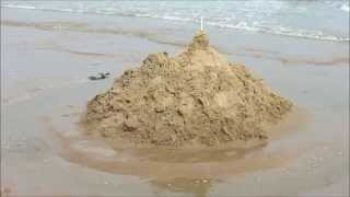 My Sandcastle Washed Away by North Sea Tide