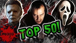 Top 50 Scariest Horror Movie Scenes of ALL TIME