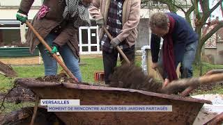 """Versailles : """"Les Colibris"""" lancent un jardin partagé"""