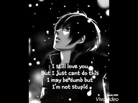 Nightcore  Stupid in love male + lyrics
