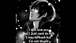 Nightcore - Stupid in love (male + lyrics)