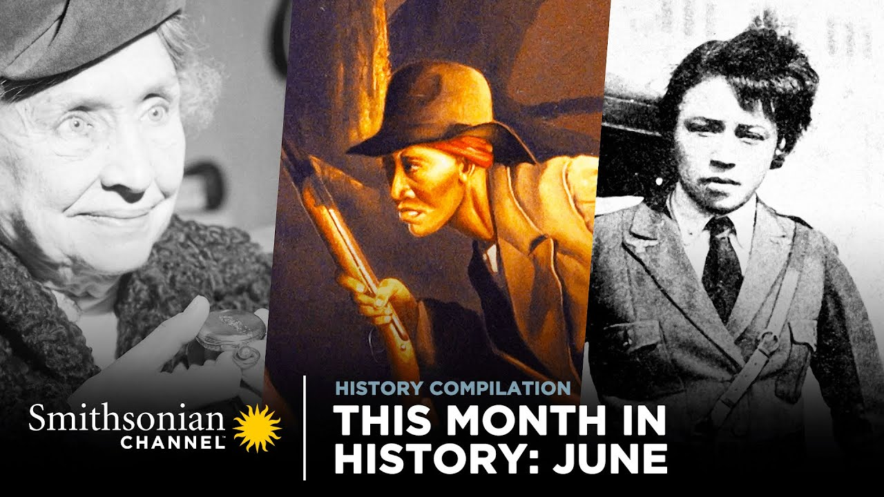 This Month In History: June 🗓️ Smithsonian Channel