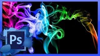PhotoShop How to Create Color Smoke