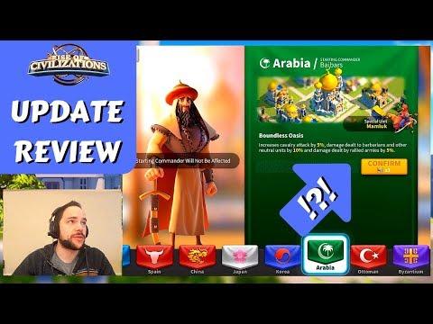 SHOULD YOU SWAP: NEW Civilizations, Commanders + Ark Rewards | Rise of Civilizations