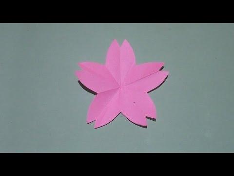 クリスマス 折り紙 折り紙 桜 折り方 : youtube.com