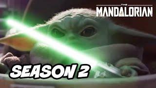 Star Wars The Mandalorian Season 2 Baby Yoda - TOP 10 WTF Predictions