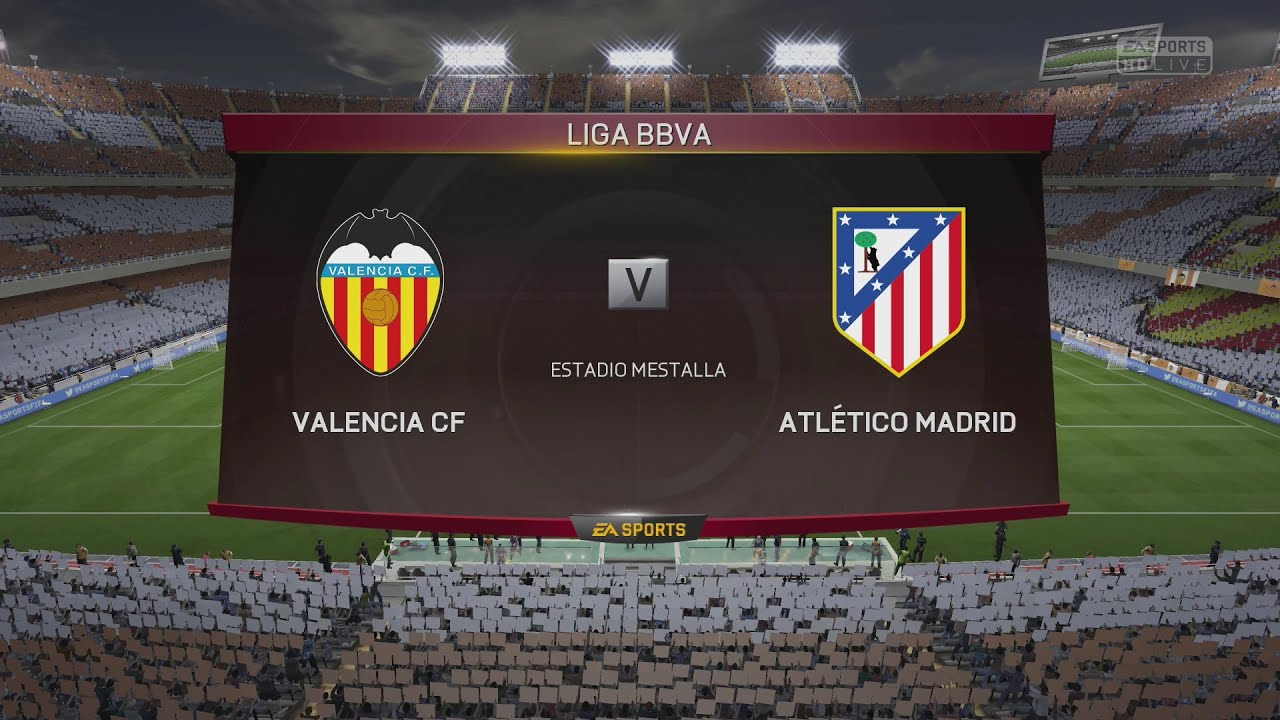 Ps4 Fifa 15 Valencia Cf Vs Atlético Madrid Next Gen