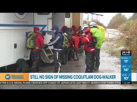 Search For Missing Dog-Walker Enters Day Two