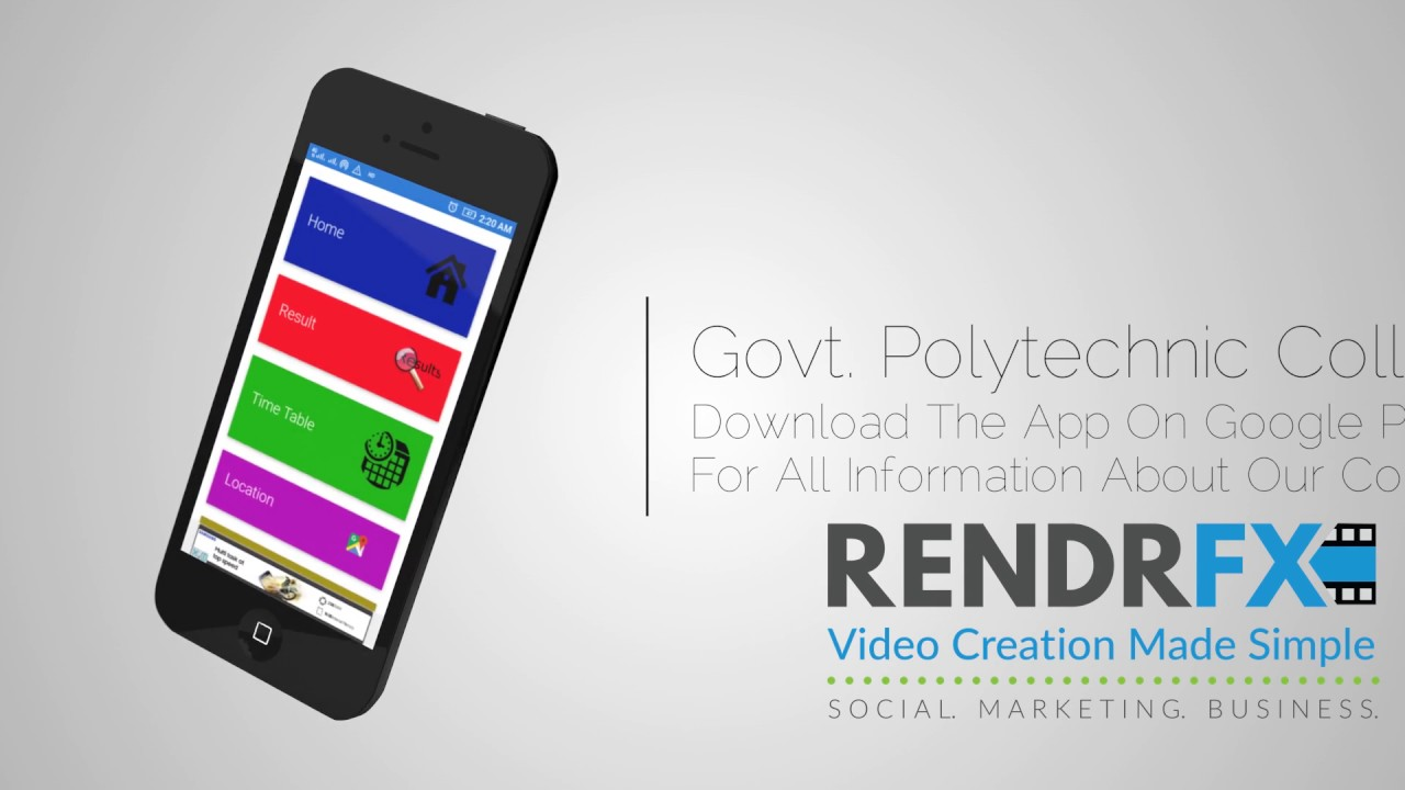 Our App Promo Video :- Download Now On PlayStore - Polytechnic College  Seoni App Pro Video