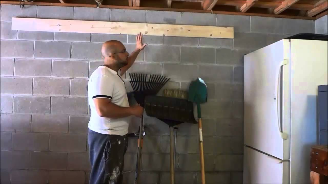 DIY EASY Tool Storage Idea Garage Organization   YouTube