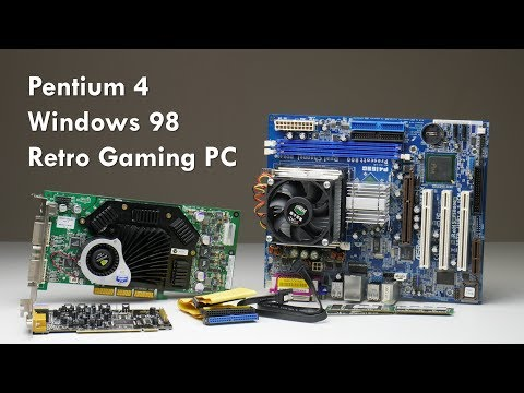 Building High Performance Windows 98 Retro Gaming PC With Pentium 4 And GeForce FX