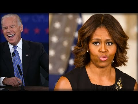 BIDEN GUSHES OVER MICHELLE, THEN HITS HILLARY WITH PAINFUL INSULT