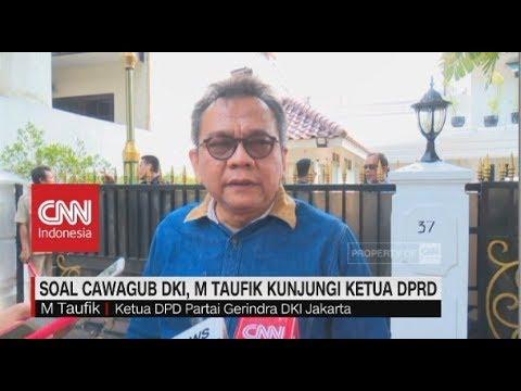 Mau Jadi Cawagub DKI, M Taufik Kunjungi Ketua DPRD Mp3