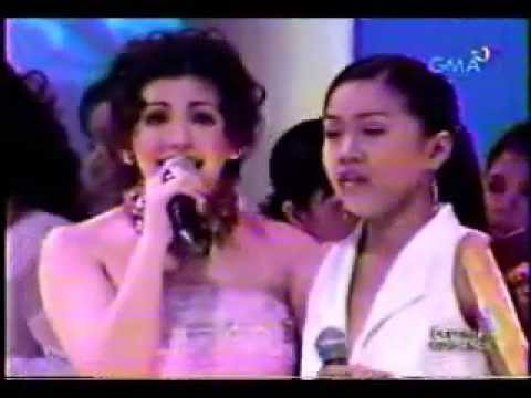 REGINE RACHELLE ANN GO WINNER SEARCH FOR A STAR 2004 E