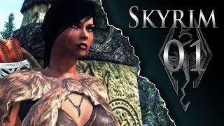 Skyrim Lets Play Modded Ep01 - The Adventure Begins