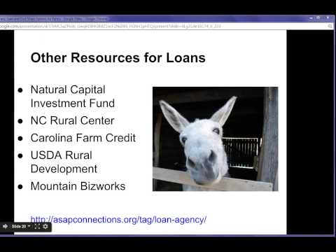 Webinar: How to Pay for it; Grant, Loan, and Cost Share Options for Farms