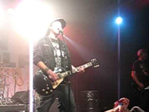 Kevin Rudolf Performing Let it Rock at Rocketown in Nashville,TN April 3, 2009
