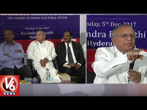 Congress Leader Jaipal Reddy Launches Book On 'Ambedkar's Ideas' In Hyderabad | V6 News
