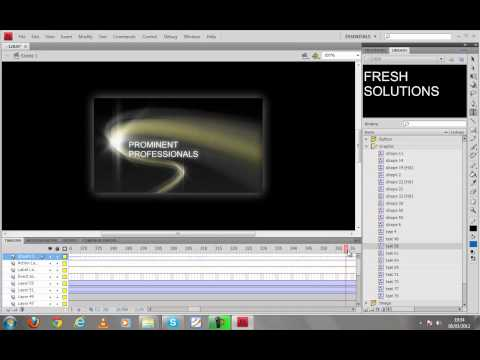 How to edit flash templates in adobe flash