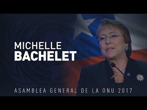 Discurso de Michelle Bachelet en la 72.ª sesión de la Asamblea General de la ONU (VERSIÓN COMPLETA)
