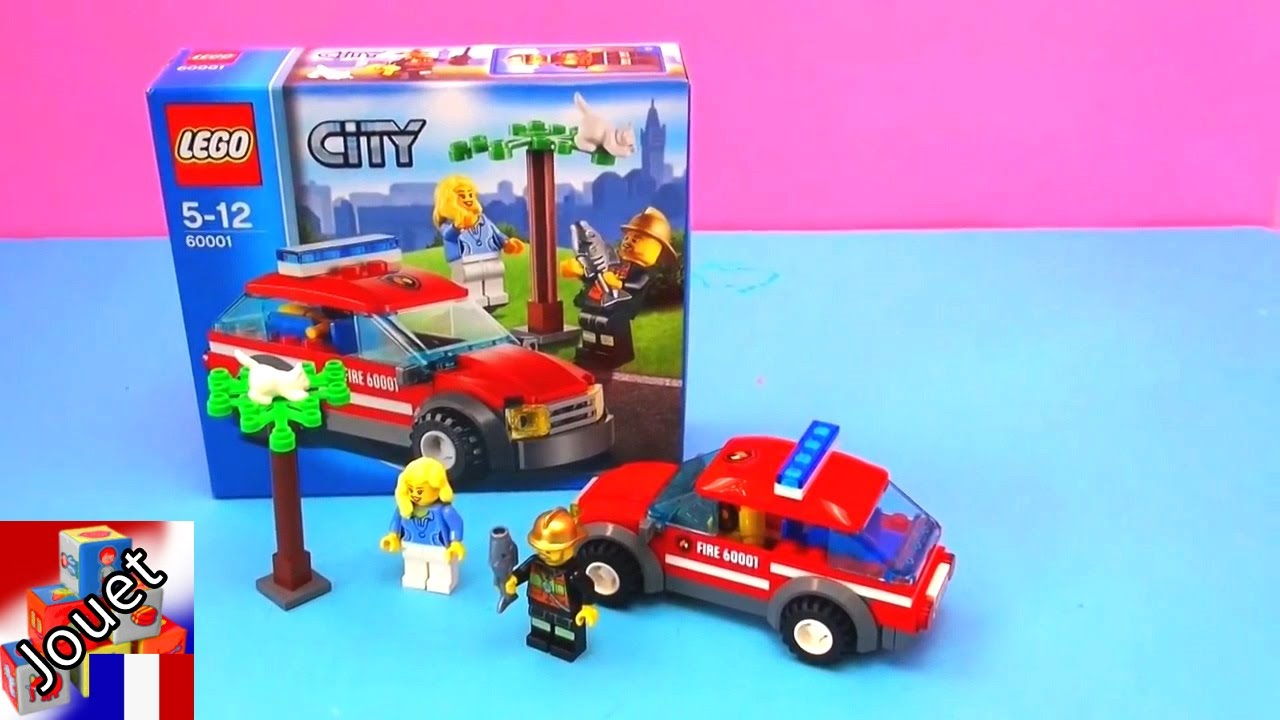 d mo construction voiture de pompiers lego voiture de pompiers de lego youtube. Black Bedroom Furniture Sets. Home Design Ideas