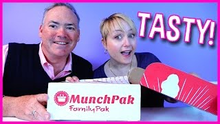 Tasting Candy and Snacks from Other Countries with Munchpak