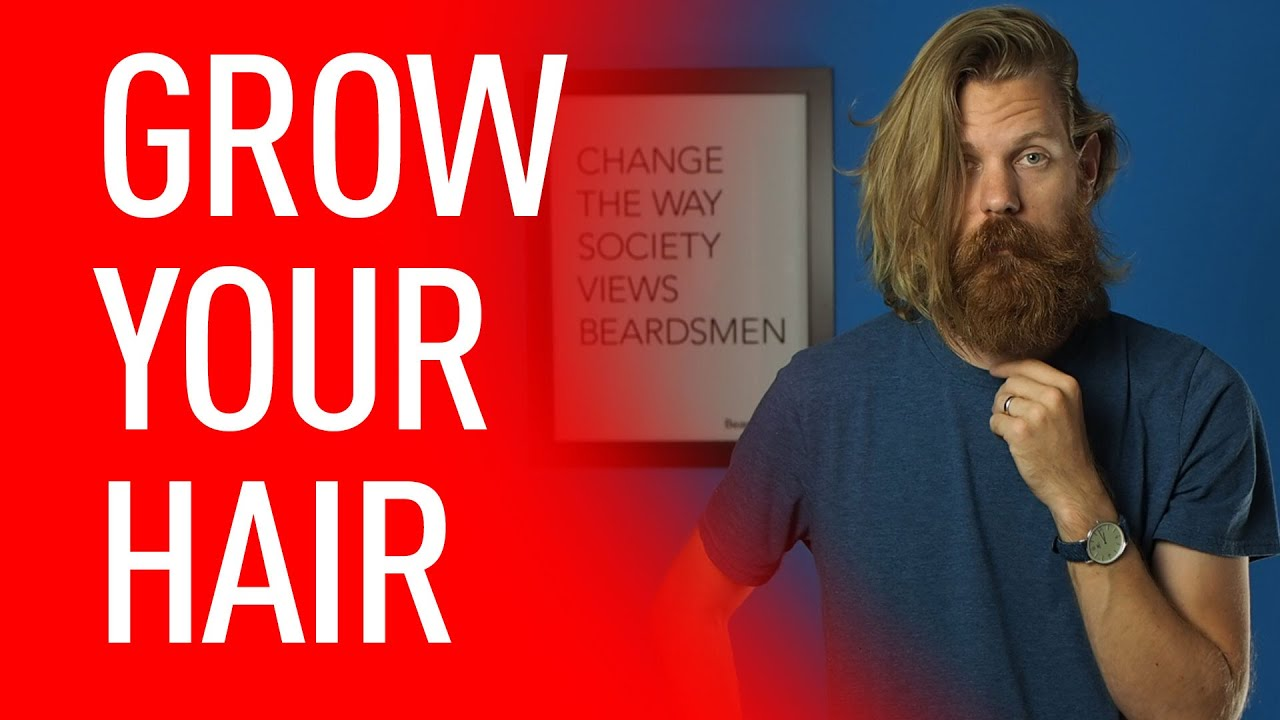 Every Man Should Grow Long Hair Eric Bandholz Youtube