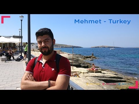 2017 BELS English Language Schools Video Testimonial - Mehmet, Turkey