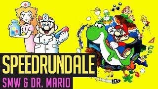 Super Mario World & Dr. Mario Speedruns von YumeTsubasaCH   Speedrundale