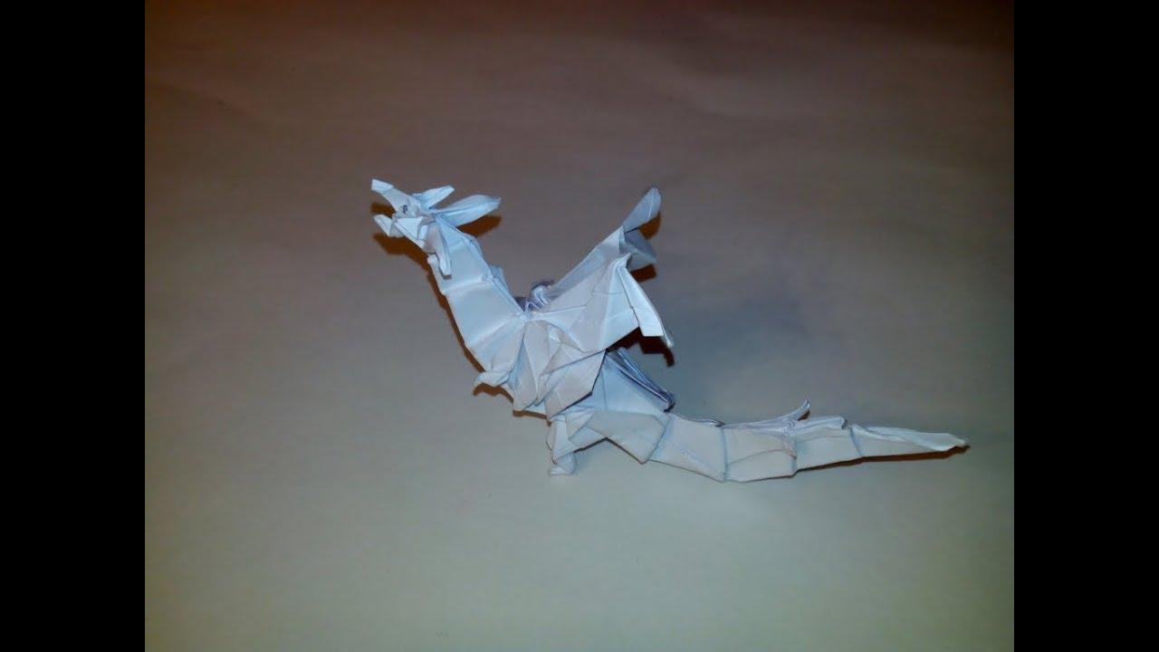 оригами/дракон/схема