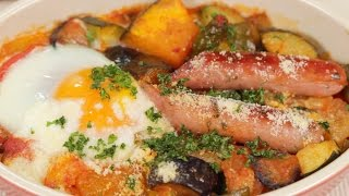 Ratatouille and Toasted Breakfast Ratatouille Recipe | Cooking with Dog thumbnail