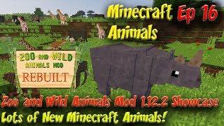 Zoo & Wild Animals Mod Updated 1.12.2 Showcase Minecraft Animals Ep16