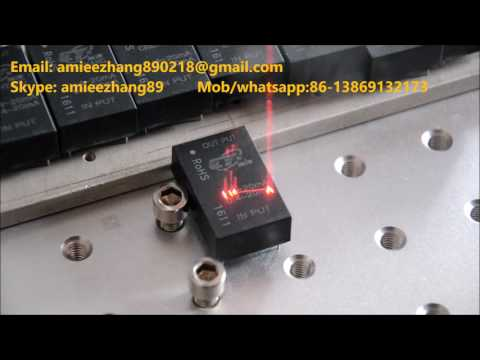 Black Epoxy Resin Fiber Laser Marking Machine