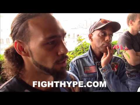 """KEITH THURMAN GETS DEEP ON """"PLAY OF EMOTIONS"""" & NERVES BEFORE FIGHT; COMPARES IT TO BIBLICAL BATTLE"""