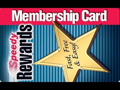 Speedy Rewards Card Sir? NOOOOO!!!