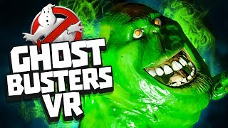 CATCHING GHOSTS IN VR! - Ghostbusters VR: Now Hiring Gameplay - HTC Vive Pro Gameplay