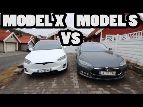 Comparación TESLA: Model X vs Model S
