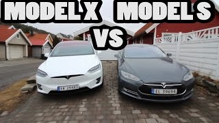 Comparación TESLA: Model X vs Model S