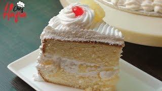 Pineapple Cake Recipe - Cake Recipe - No Oven Cake Recipe