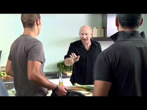 FULL VERSION Master Chef Judge, Matt Moran Loses It On Set