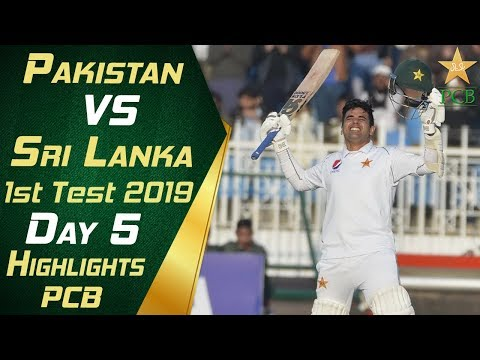 Pakistan vs Sri Lanka 2019 | Full Highlights Day 5 | 1st Tes
