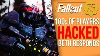 Fallout 76 Hack Goes Live, 100s of Users Lose Entire Inventory - Bethedsa Responds