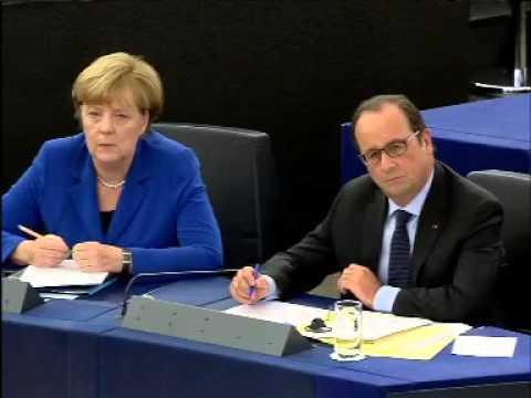 Speech Guy Verhofstadt to Angela Merkel and François Hollande on the future of Europe